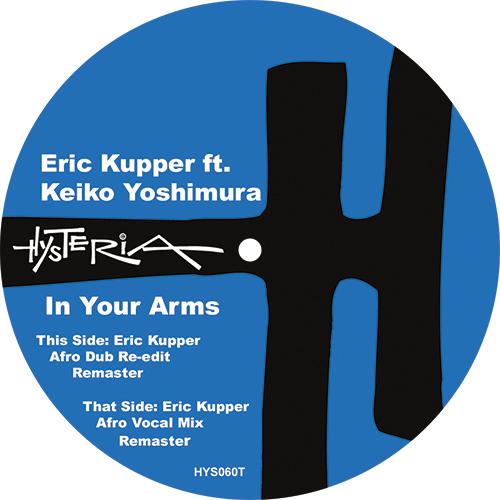 """Eric Kupper/IN YOUR ARMS 12"""""""