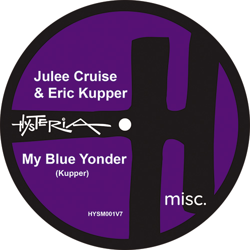 "Julee Cruise & Eric Kupper/MY BLUE... 7"""