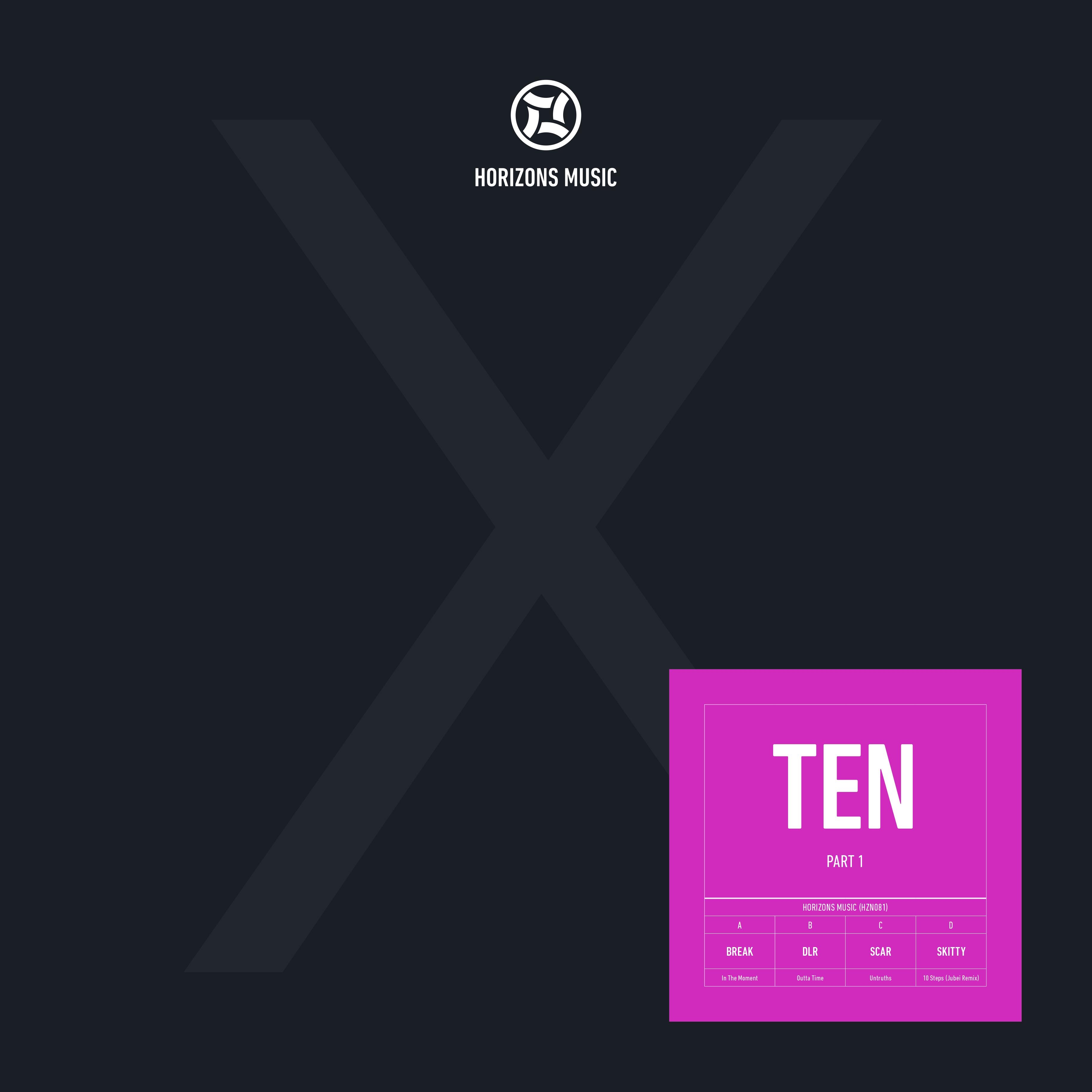 """Various/HORIZONS MUSIC TEN LP PT. 1 D12"""""""