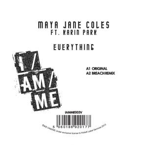 """Maya Jane Coles/EVERYTHING 12"""""""