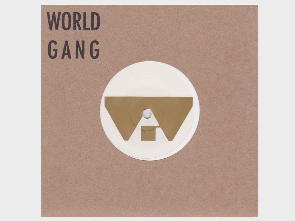 World Gang/MECHANIC THE MUSHROOM 7""