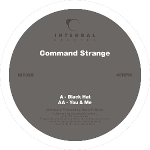 Command Strange/BLACK HAT 12""