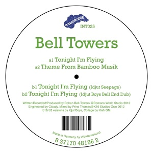 """Bell Towers/TONIGHT I'M FLYING 12"""""""