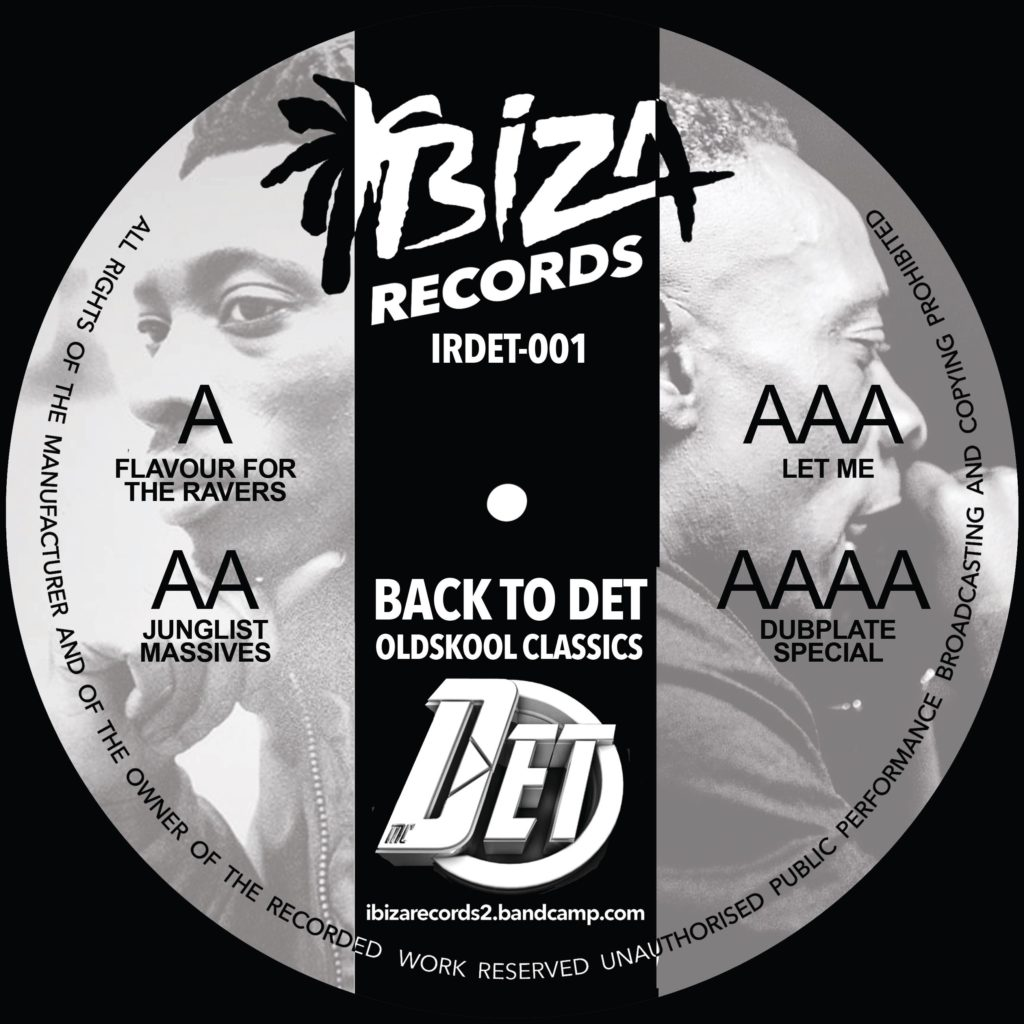 MC Det/BACK TO DET OLDSKOOL CLASSICS 12""