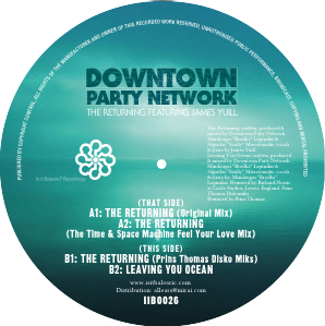 """Downtown Party Network/THE RETURNING 12"""""""