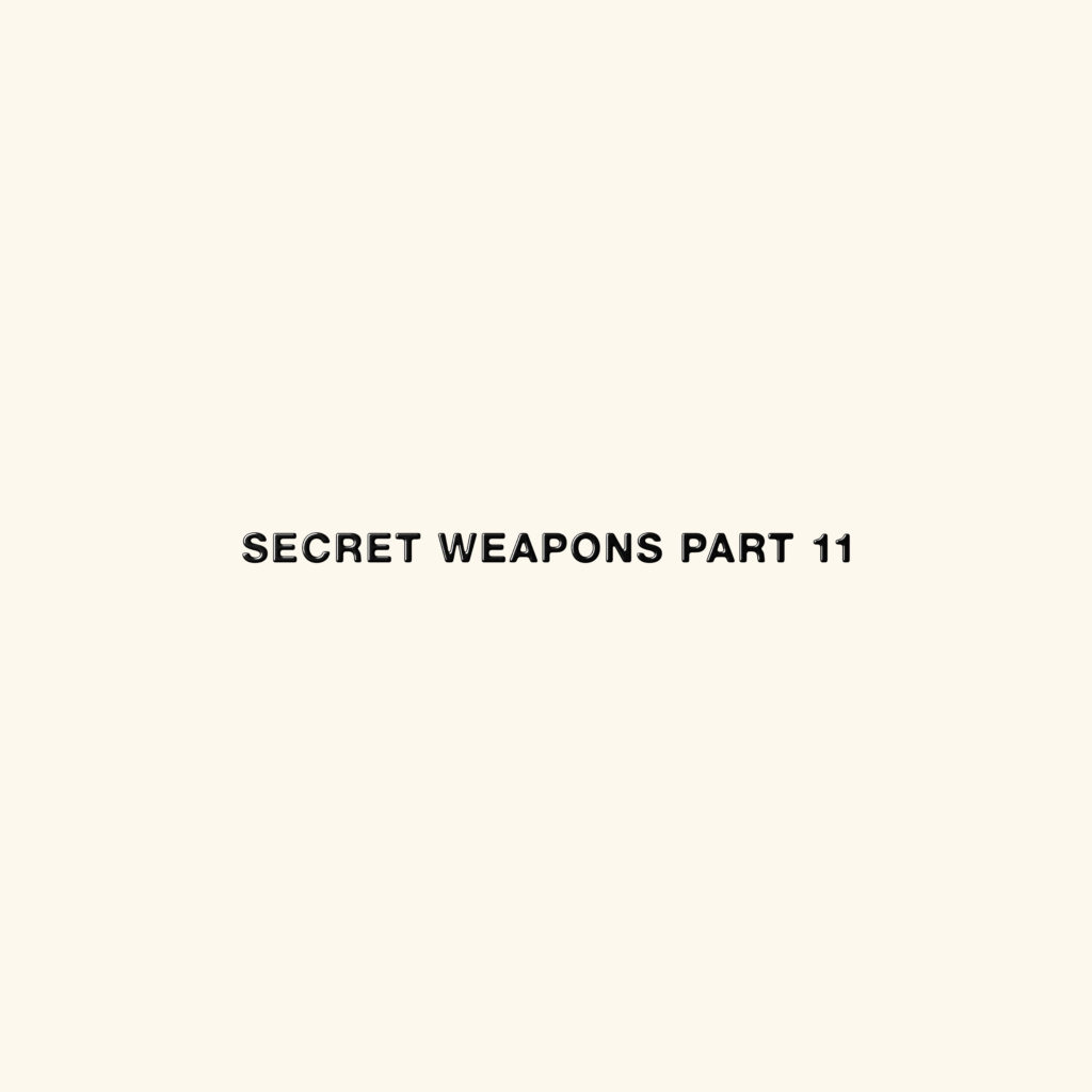 Various/SECRET WEAPONS PART 11 4LP