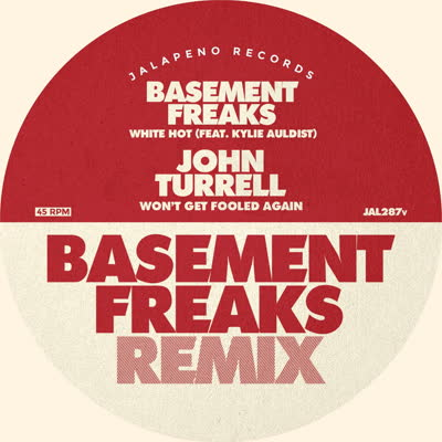 "Basement Freaks/WHITE HOT REMIX 7"""
