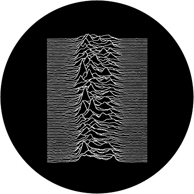 Joy Division/UNKNOWN PLEASURES SLIPMAT