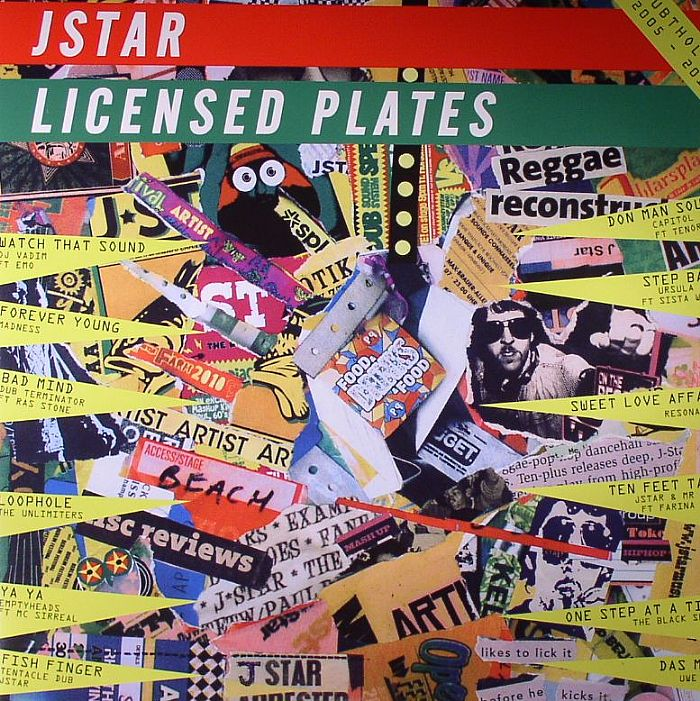 J Star/LICENSED PLATES DLP