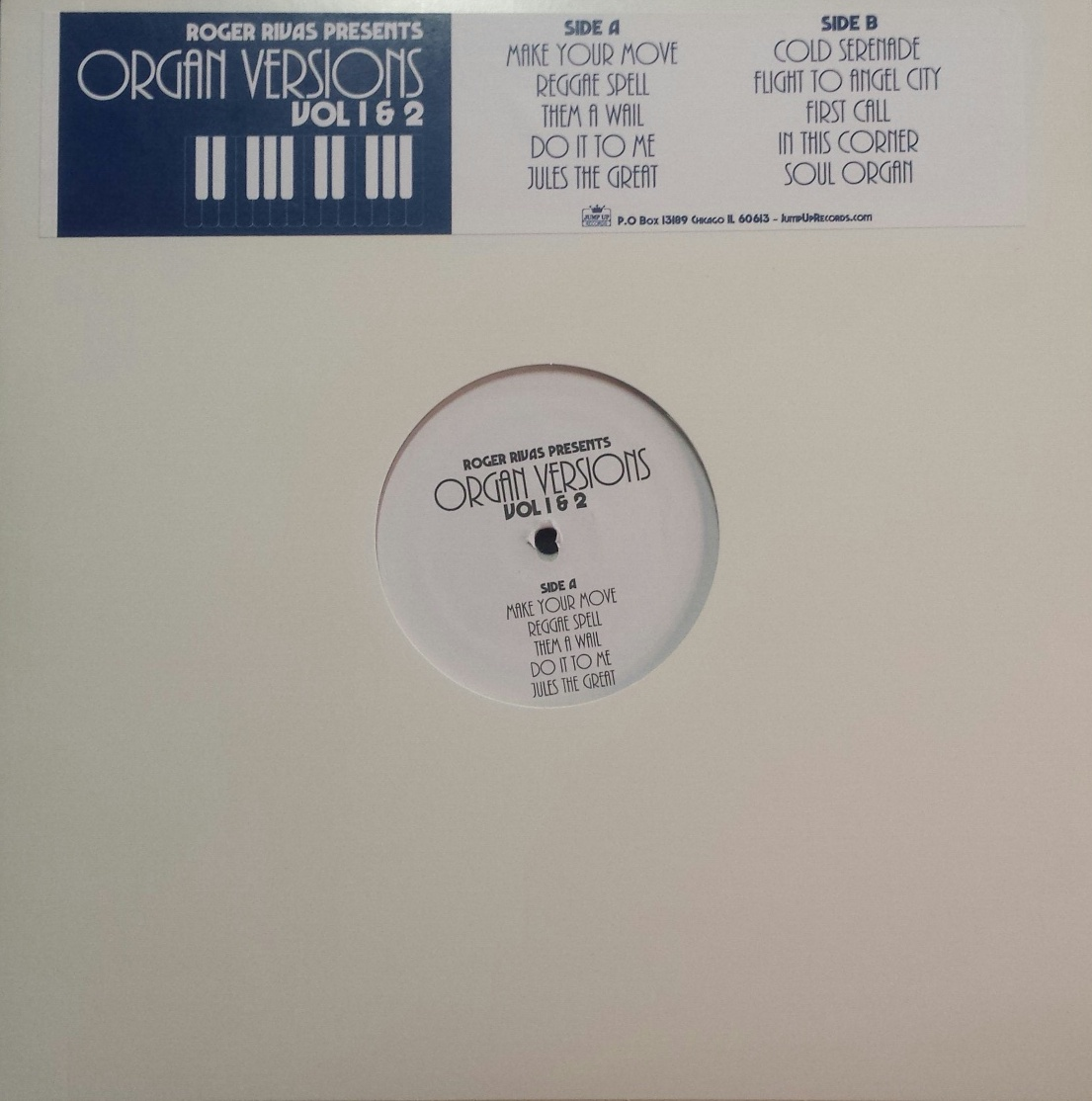 Roger Rivas(Aggrolites)/ORGAN VER 1&2 LP