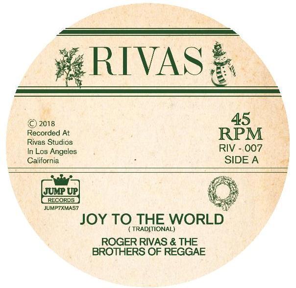 "Roger Rivas/JOY TO THE WORLD & WINTER 7"""
