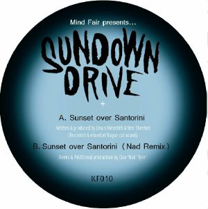 "Sundown Drive/SUNSET OVER SANTORINI 12"""