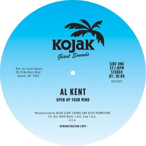 Al Kent/OPEN YOUR MIND 12""