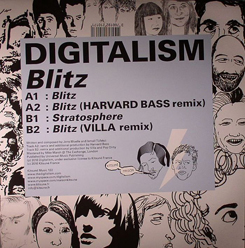 "Digitalism/BLITZ 12"""