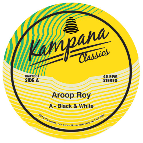 Aroop Roy/BLACK & WHITE 12""
