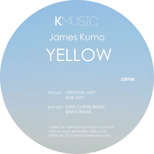 James Kumo/YELLOW (DAN CURTIN REMIX) 12""
