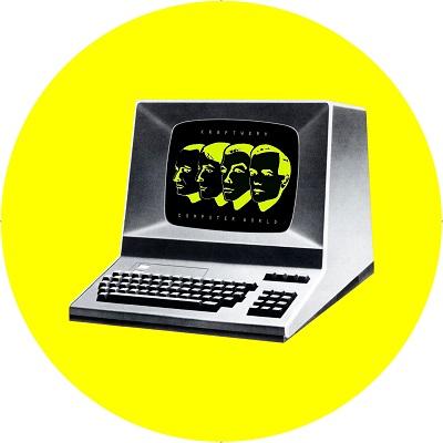 Kraftwerk/COMPUTER WORLD ALBUM SLIPMAT