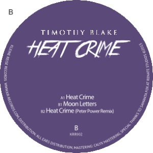 Timothy Blake/HEAT CRIME EP 12""