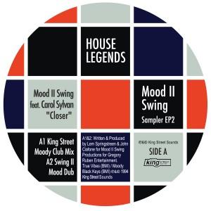 """Mood II Swing/HOUSE LEGENDS EP #2 12"""""""