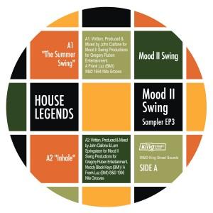 """Mood II Swing/HOUSE LEGENDS EP #3 12"""""""