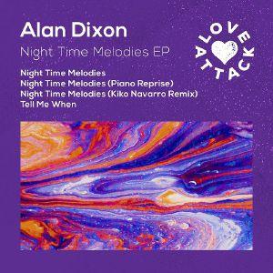 "Alan Dixon/NIGHT TIME MELODIES EP 12"""