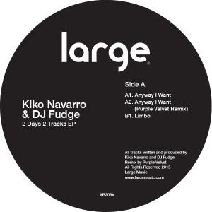"Kiko Navarro & DJ Fudge/2 DAYS... 12"""