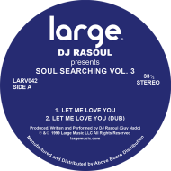 DJ Rasoul/SOUL SEARCHING VOL. 3 12""