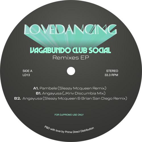 "Vagabundo Club Social/PAMBELE RMX'S 12"""