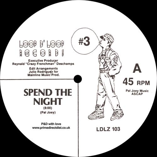 "Pal Joey/SPEND THE NIGHT 12"""
