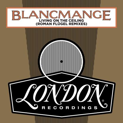 "Blancmange/LIVING ON THE CEILING RMX 12"""