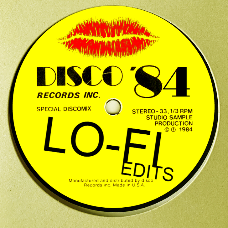 Lo-Fi Edits/NICKEL BAG OF DISCO EP 12""