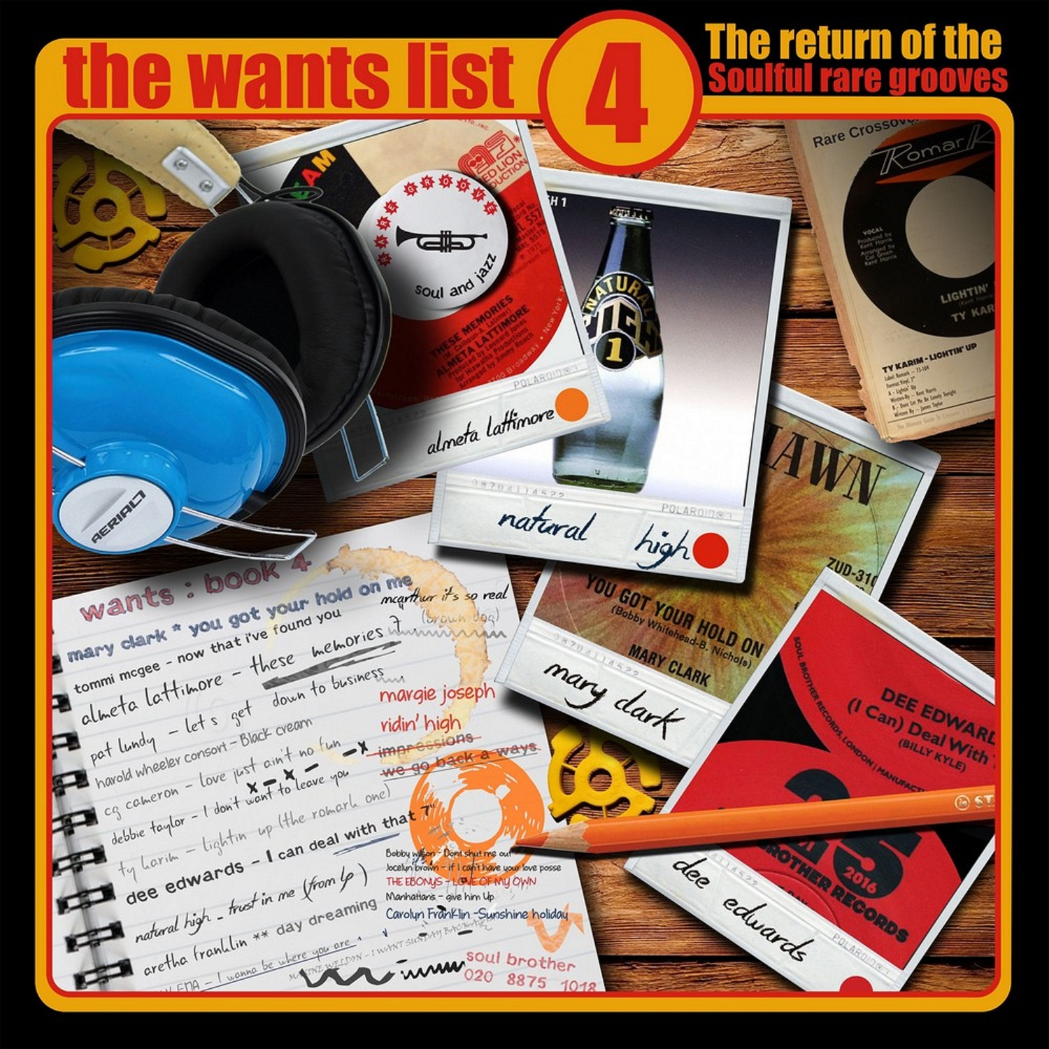 Various/WANTS LIST VOL 4 (70s SOUL) DLP