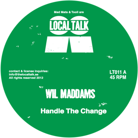 Will Maddams/STAND IN FOR LOVE 12""