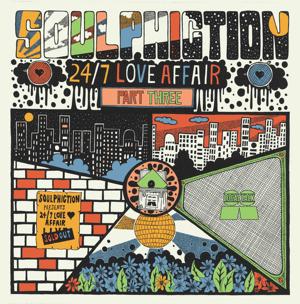 """Soulphiction/24-7 LOVE AFFAIR PT 3 12"""""""