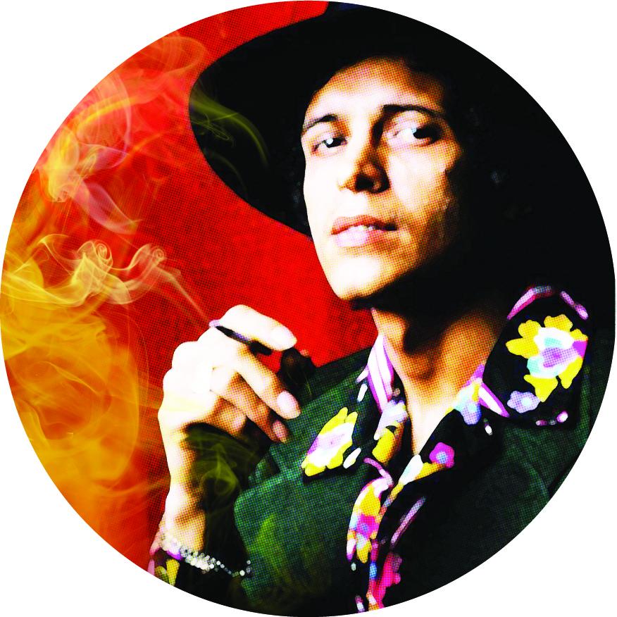 Hector Lavoe/7 INCH SMOKE SLIPMAT