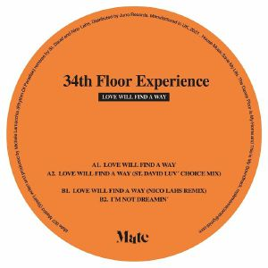 """34th Floor Experience/LOVE WILL... 12"""""""