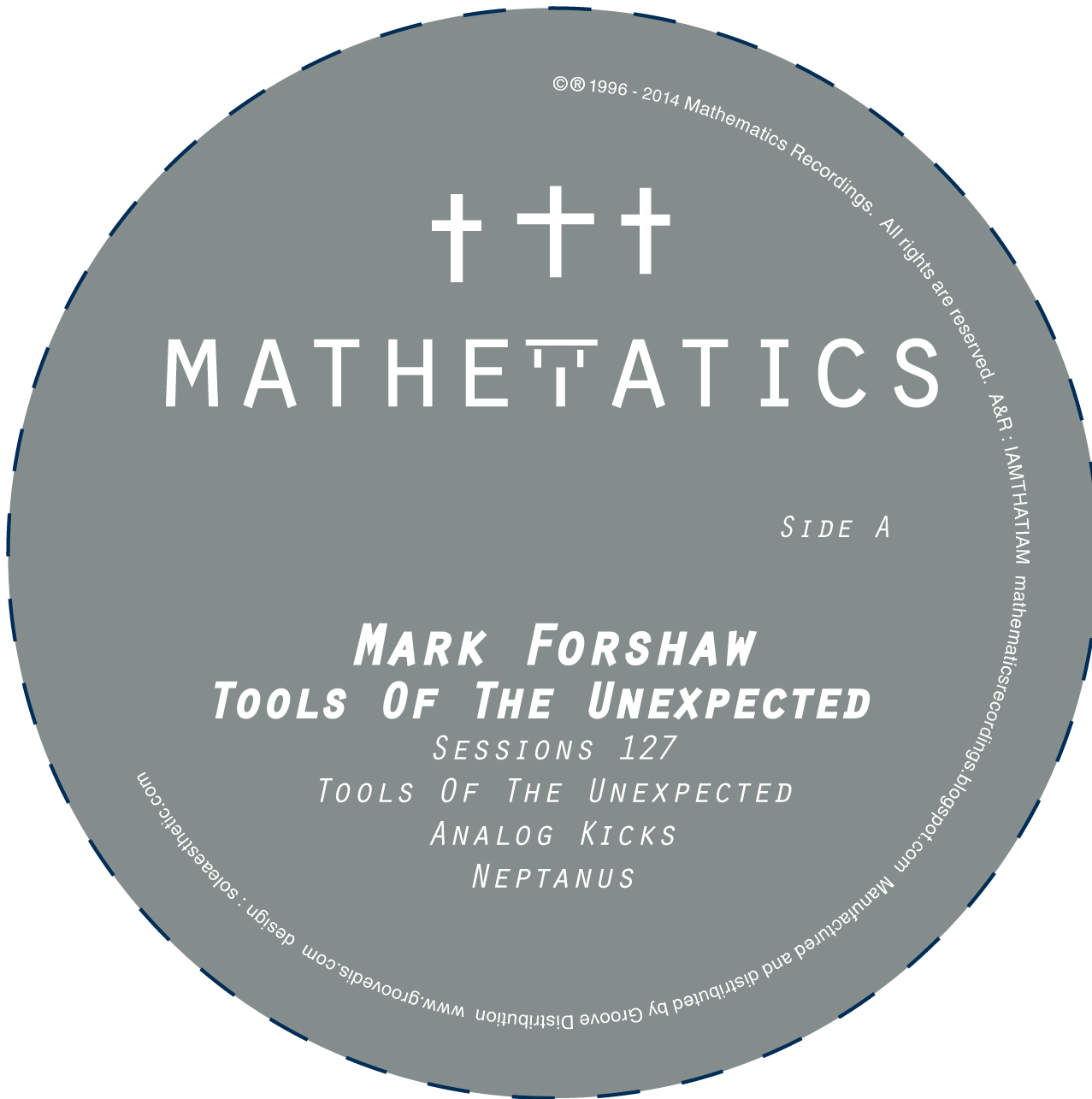 Mark Forshaw/TOOLS OF THE UNEXPECTED 12""