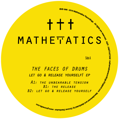 """Face Of Drums/LET GO & RELEASE... 12"""""""