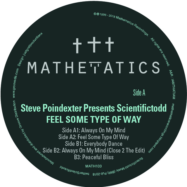 Scientifictodd/FEEL SOME TYPE OF WAY 12""