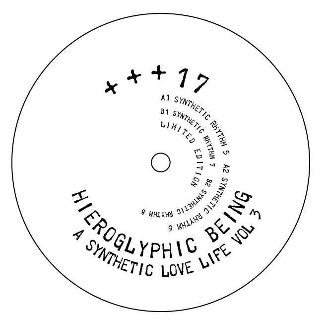 Hieroglyphic Being/SYNTHETIC LOVE 3..12""