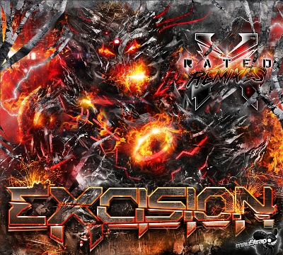 Excision/X RATED: THE REMIXES CD