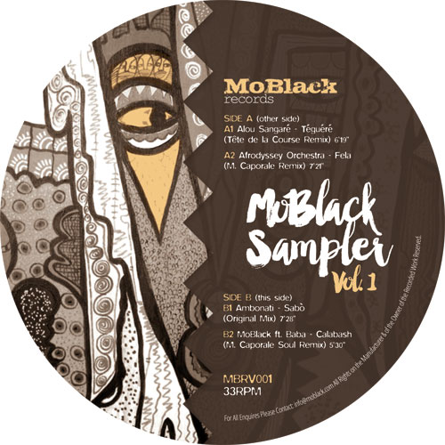 Various/MOBLACK SAMPLER VOL. 1 12""