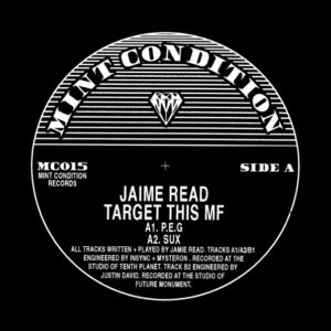 "Jaime Read/TARGET THIS MF 12"""