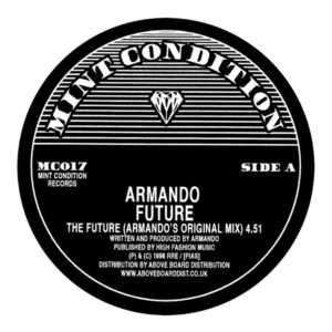 Armando/THE FUTURE (CAJMERE REMIX) 12""