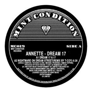 "Annette/DREAM 17 (DERRICK MAY REMIX) 12"""