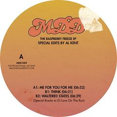 Al Kent/PRESENTS RASPBERRY FREEZE EP 12""