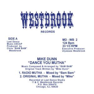 "Mike Dunn/DANCE YOU MUTHA 12"""