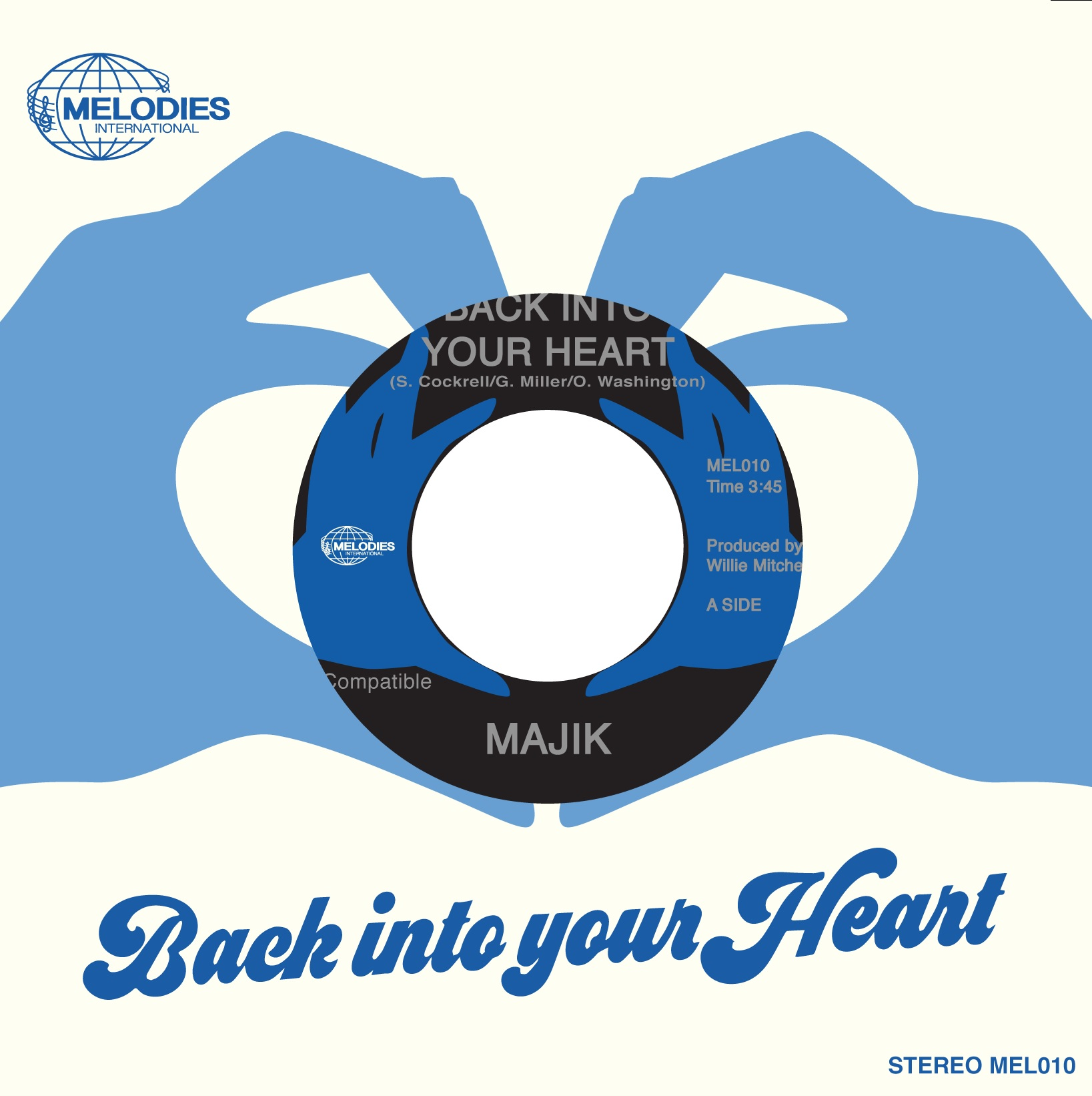 Majik/BACK INTO YOUR HEART 7""