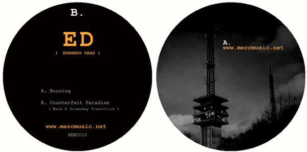 """ED/BURNING & COUNTERFEIT PARADISE 12"""""""