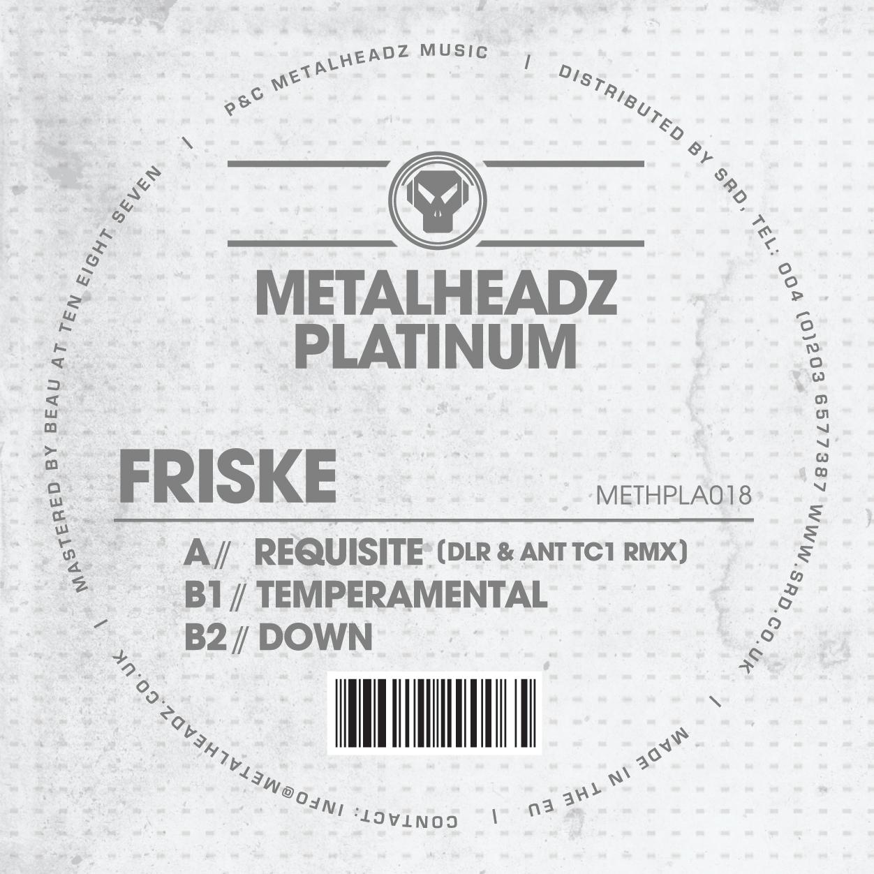 "Friske/TEMPERAMENTAL EP 12"""